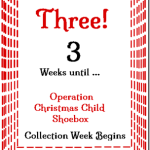 3 Weeks Til Shoebox Time! @SuzBroadhurst