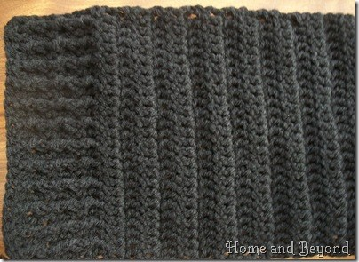 Hills and Valleys of Ribbing
