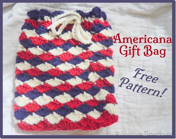 Crochet For A Cause Navy Baby Ditty Diaper Bag In Shell Stitch