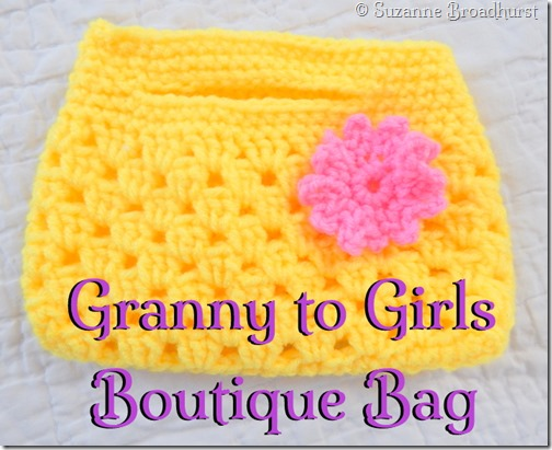 Granny to Girls Boutique Bag Bright Yellow