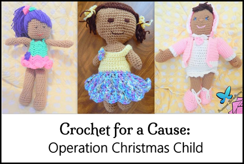 Crochet for a Cause_Three Dolls
