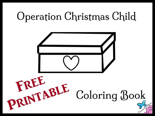 Coloring Book For Operation Christmas Child Docx