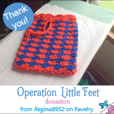 Regina8952 Ravelry Donation to USO1