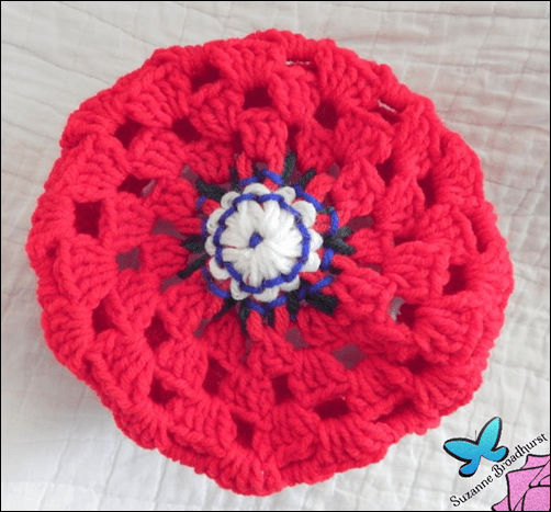 Hat from Top_Judy Flower