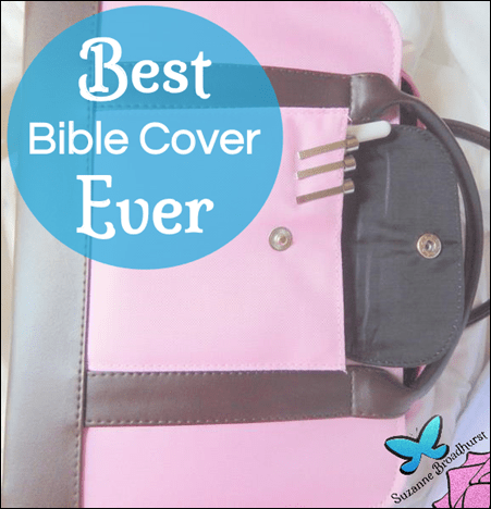 Best Bible Cover Ever - and It's Pink!