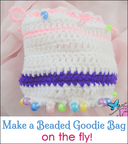 Make a Beaded Goodie Bag on the Fly