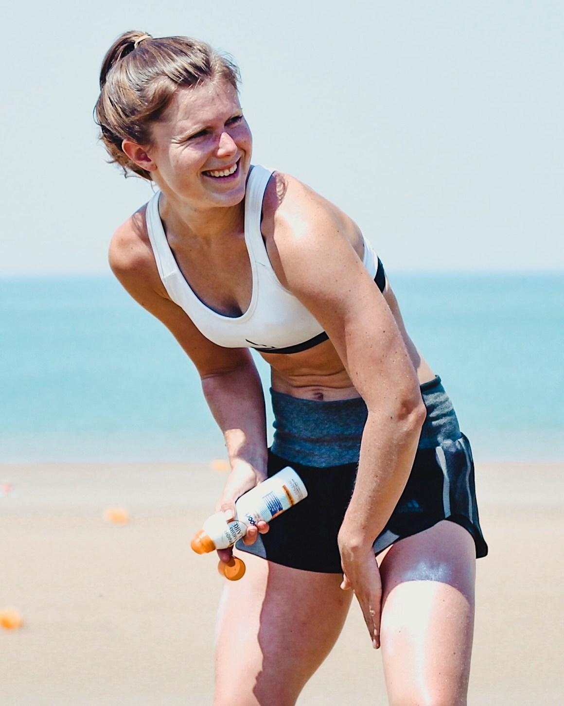 sporten in de zomer