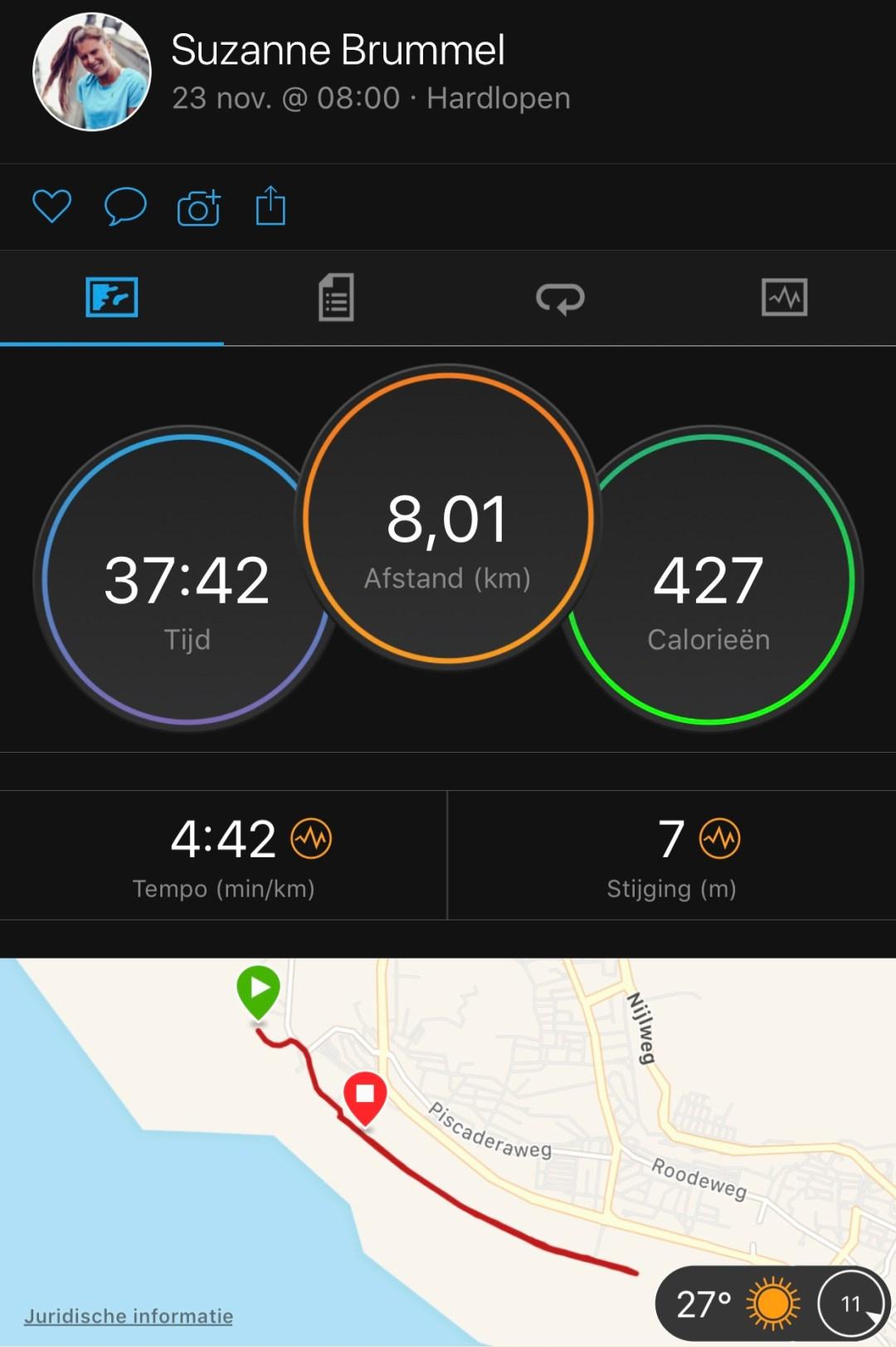 running op curacao