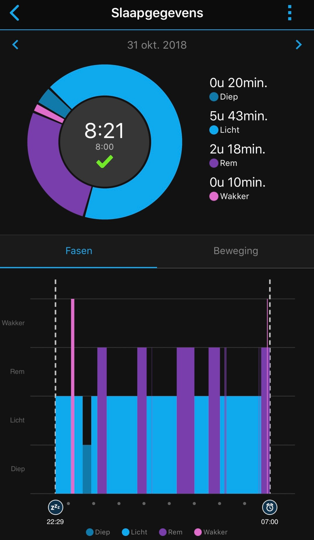 sleep tracking garmin