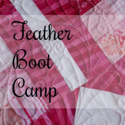 Feather Boot Camp — an online machine quilting class