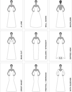 Wedding dress styles silouettes also our guide suzanne neville rh suzanneneville