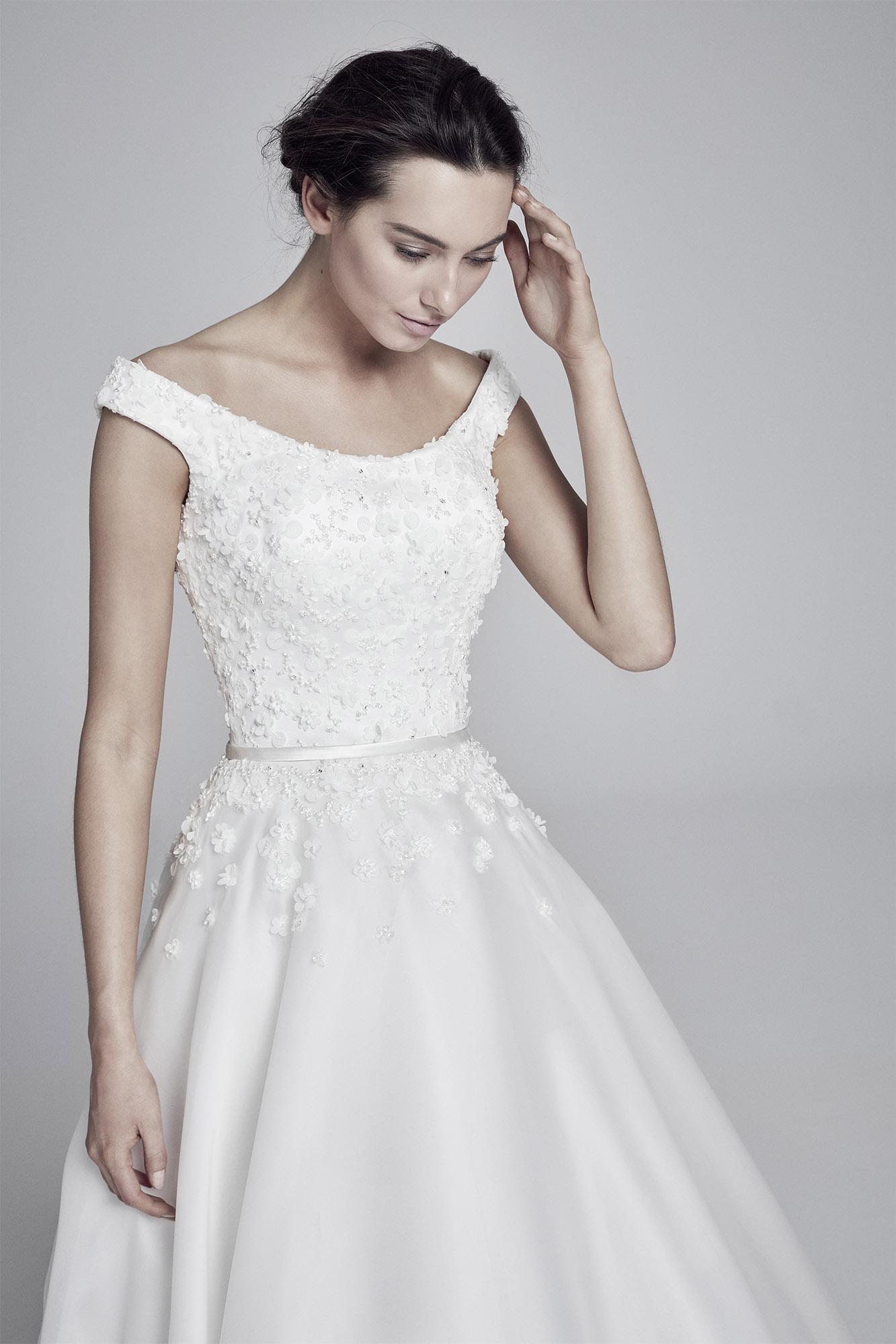 Floriana  Collections 2019 Lookbook  UK designer wedding dresses