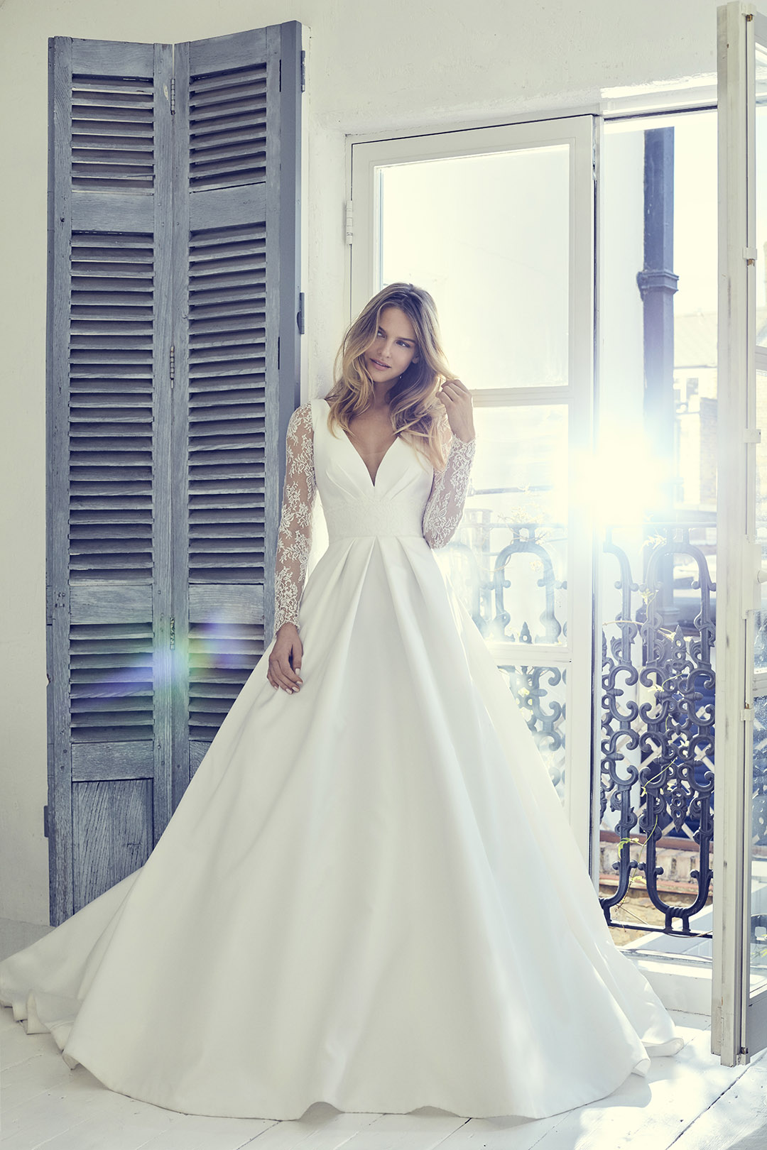 Wedding Dresses With Half Sleeves