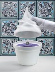 Syz's Frozen yogurt by Alex Israel