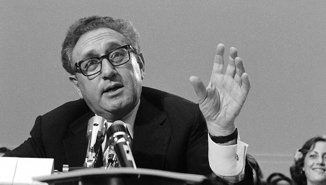 """Former Secretary of State Henry Kissinger once said power is """"the ultimate aphrodisiac."""" (AP Photo)"""