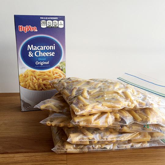 Cook ahead and freeze lunch meals so have a healthy, tasty and economical choice available.