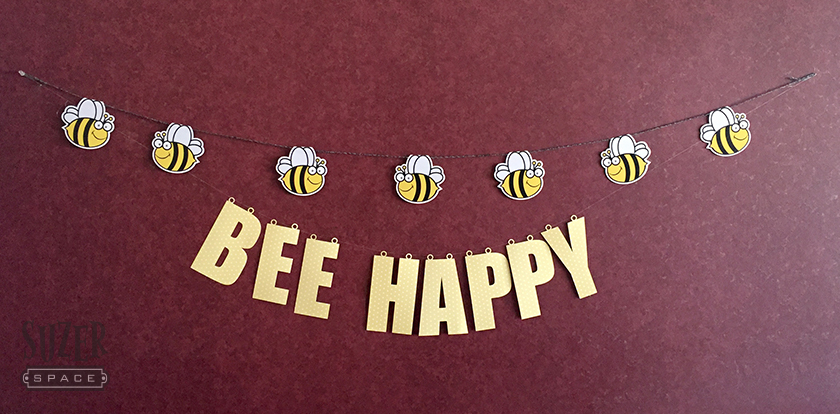 Bee Happy Banner