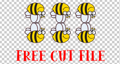 Click to download the Bee Happy banner Files
