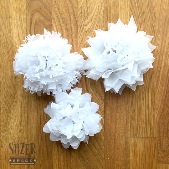 Tissue Paper Flowers from Hey Let's Make Stuff