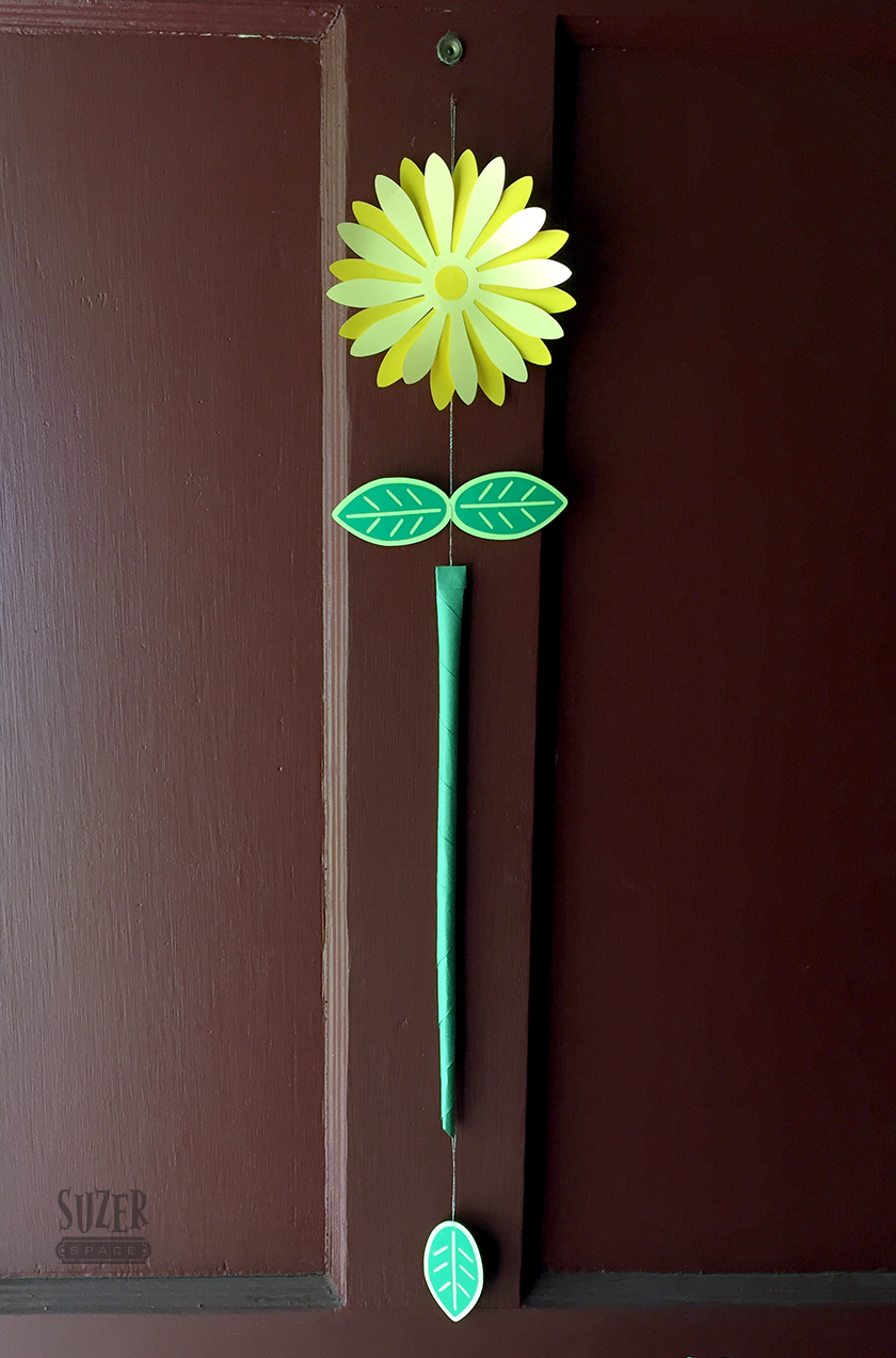 Daisy Door Decoration