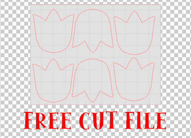 free cut files for the paper flower mobile