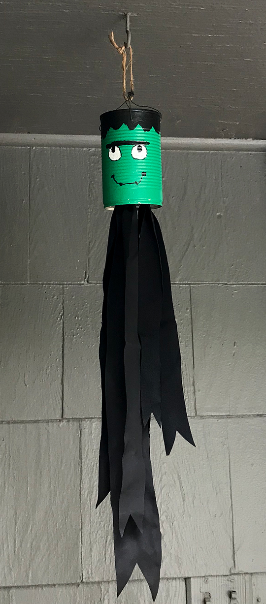 Frankenstein Halloween Windsock | SuzerSpace.com
