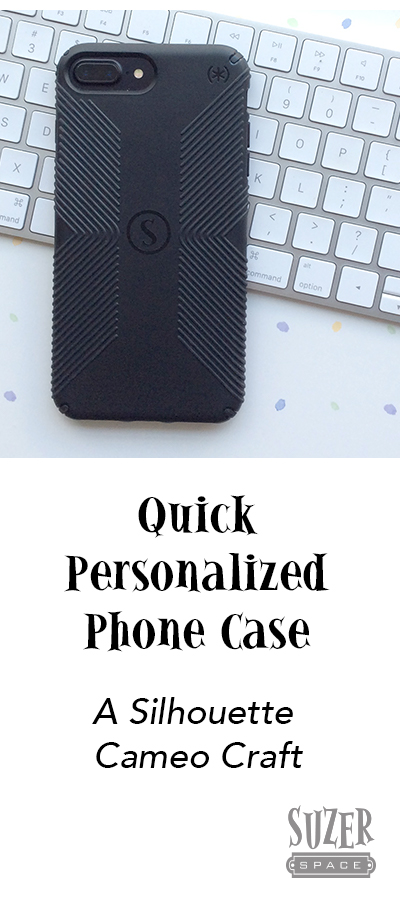 Personalize your phone case with your initial (or anything else)   suzerspace.com