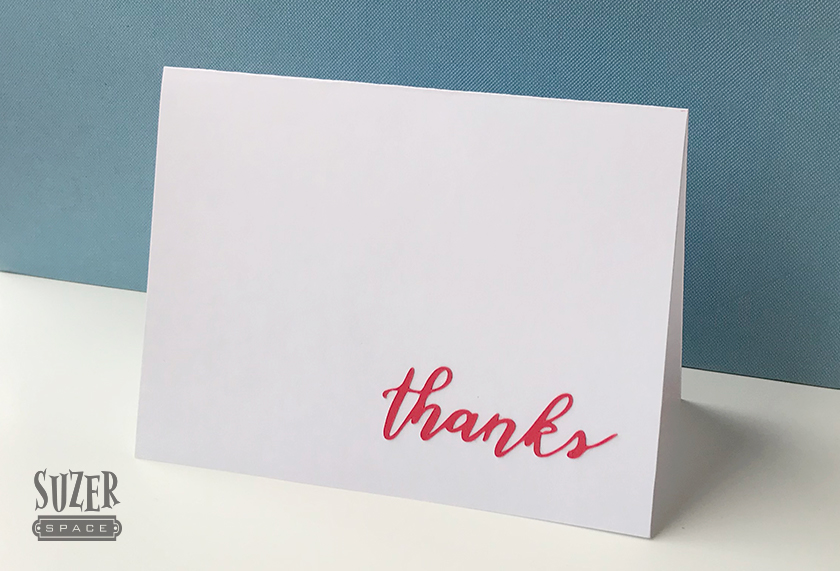 Thank You Card Suzerspace