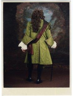 Back of silk coat, 1688