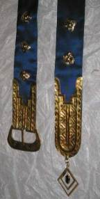 Medieval belt ends and studs