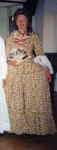 Cotton 1765 jacket and skirt