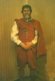 Elizabethan man 1590