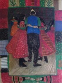 Dancing in a foursome, Szék