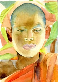 Monk, Cambodia