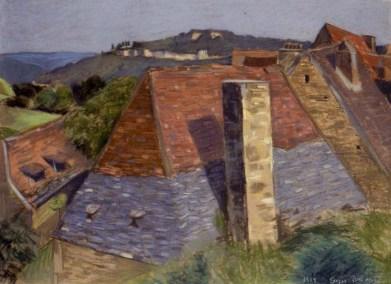Old buildings at St Julien