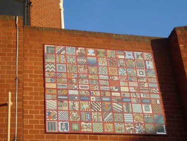 Cossall Estate mosaic