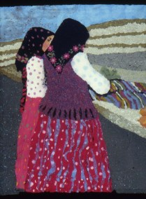 Two Transylvanian Women at Market