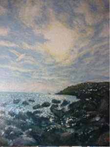 Painting by Cornish artist, Suzi Stephens
