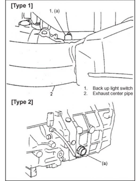 Reverse light switch for 99 2.0L 4 cyl, 3 door Vitara