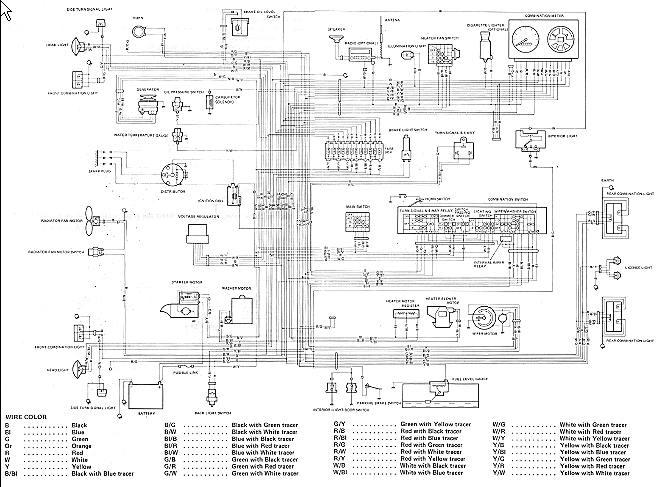 [DIAGRAM] Wiring Diagrams For A 1992 Suzuki Carry FULL