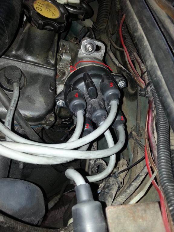 Ford 1600 Starter Wiring Diagram Distributor Cap Original Firing Order Suzuki Forums