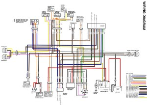 Colored Wire Diagram  Suzuki Z400 Forum : Z400 Forums
