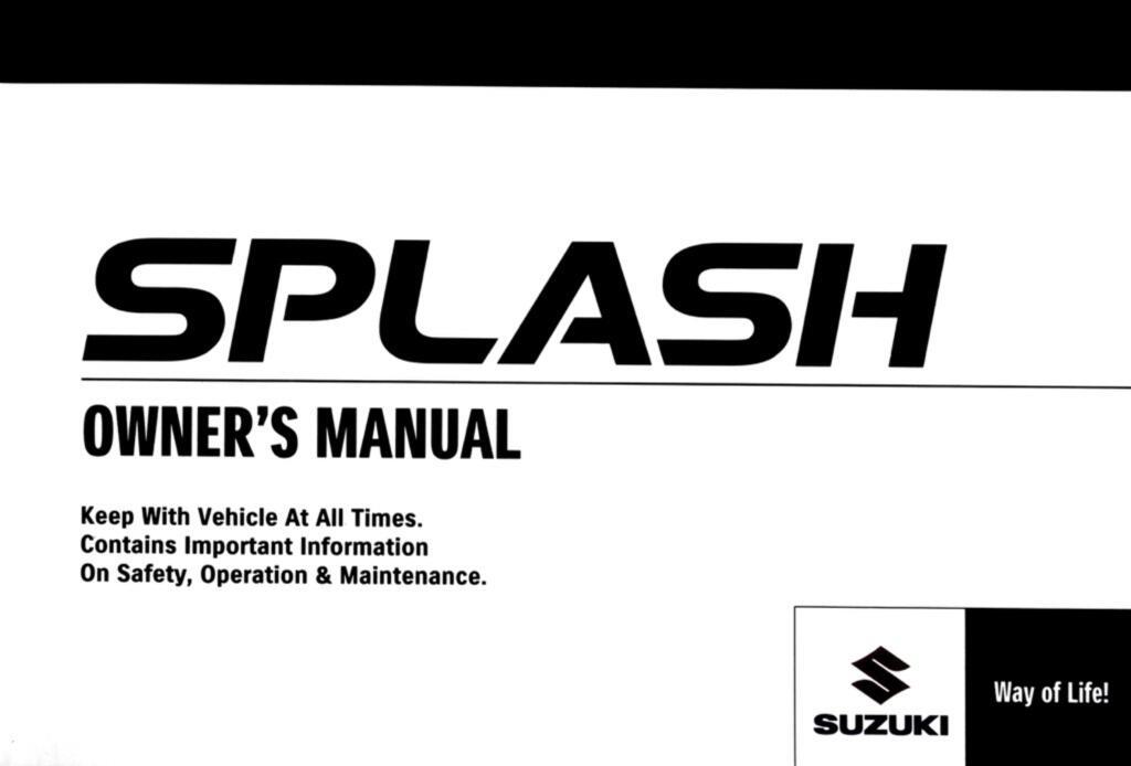 2012 splash users manual.pdf (36.5 MB)