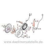 Daelim VL125 Daystar FI euro3 2013-15 Ersatzteile