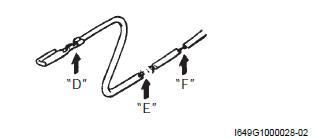 Suzuki GSX-R 1000 Service Manual: Open circuit check