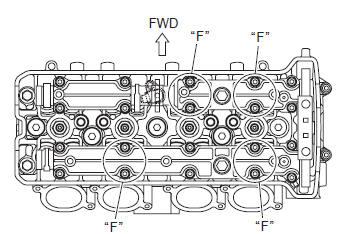 Suzuki GSX-R 1000 Service Manual: Valve clearance