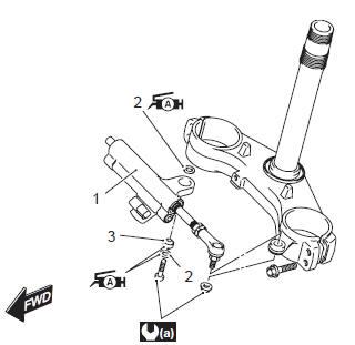 Suzuki GSX-R 1000 Service Manual: Steering damper
