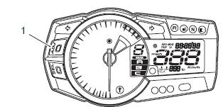 Suzuki GSX-R 1000 Service Manual: Combination meter