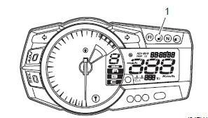 Suzuki GSX-R 1000 Service Manual: Fuel level indicator