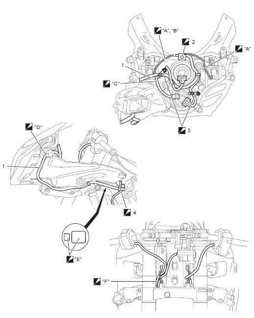 suzuki gsxr 1000 service manual wiring harness routing